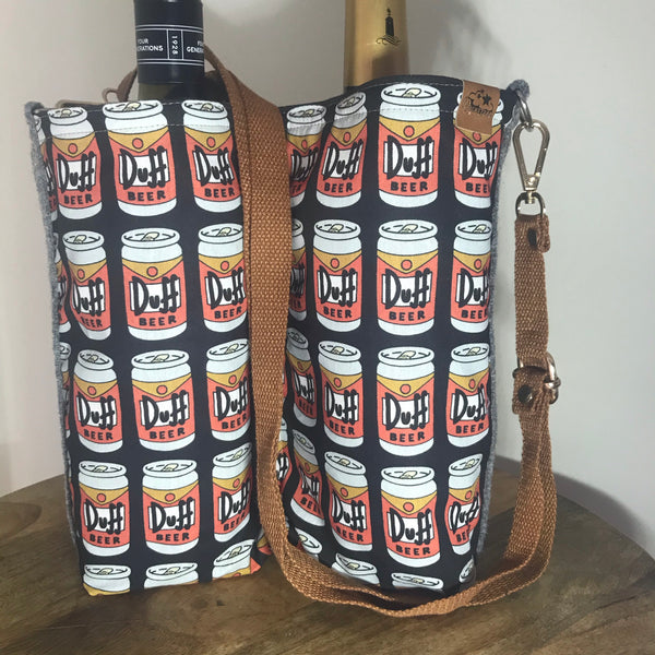 Dūff ~ Wine bottle bag