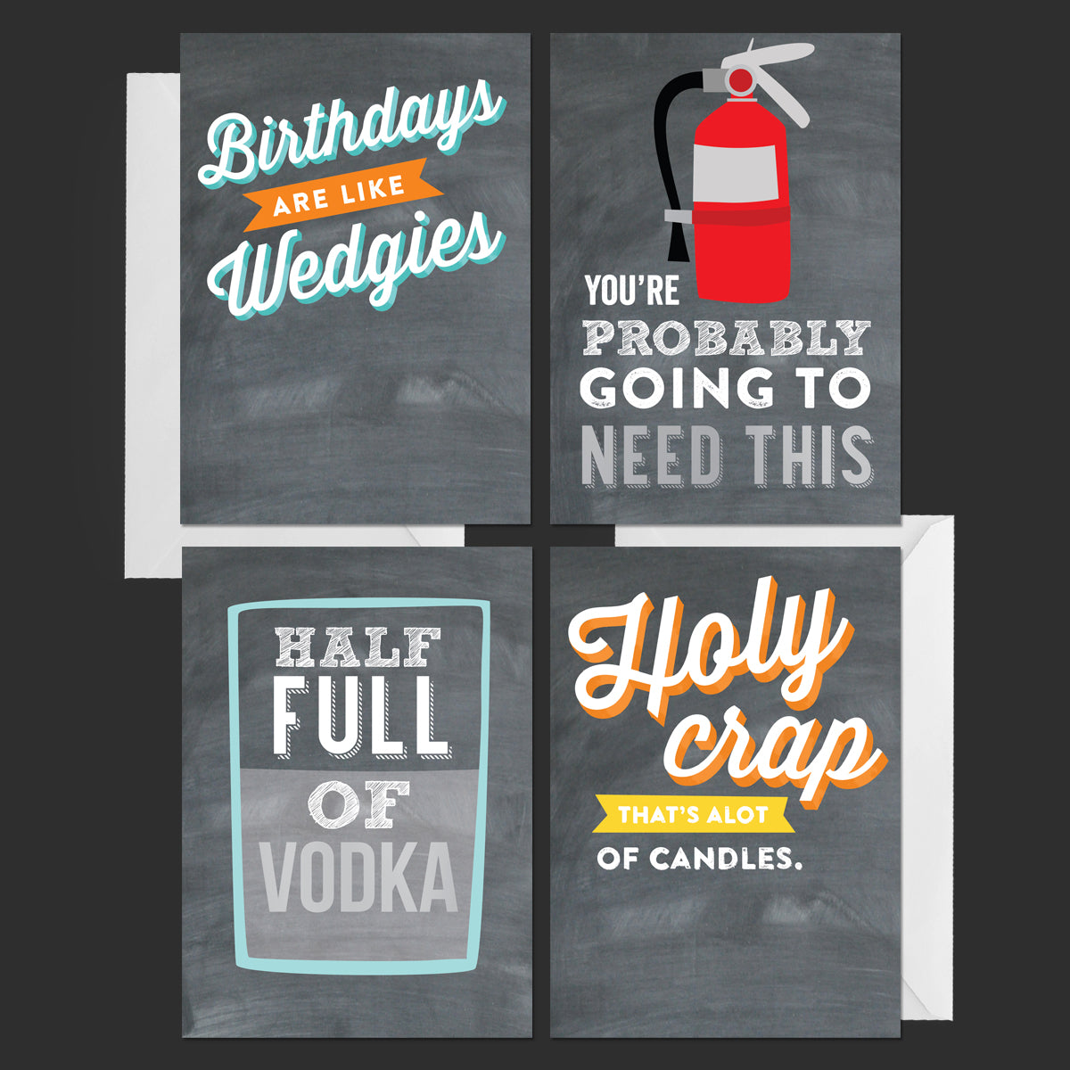 Vicky Barone Chalkful Greeting Cards