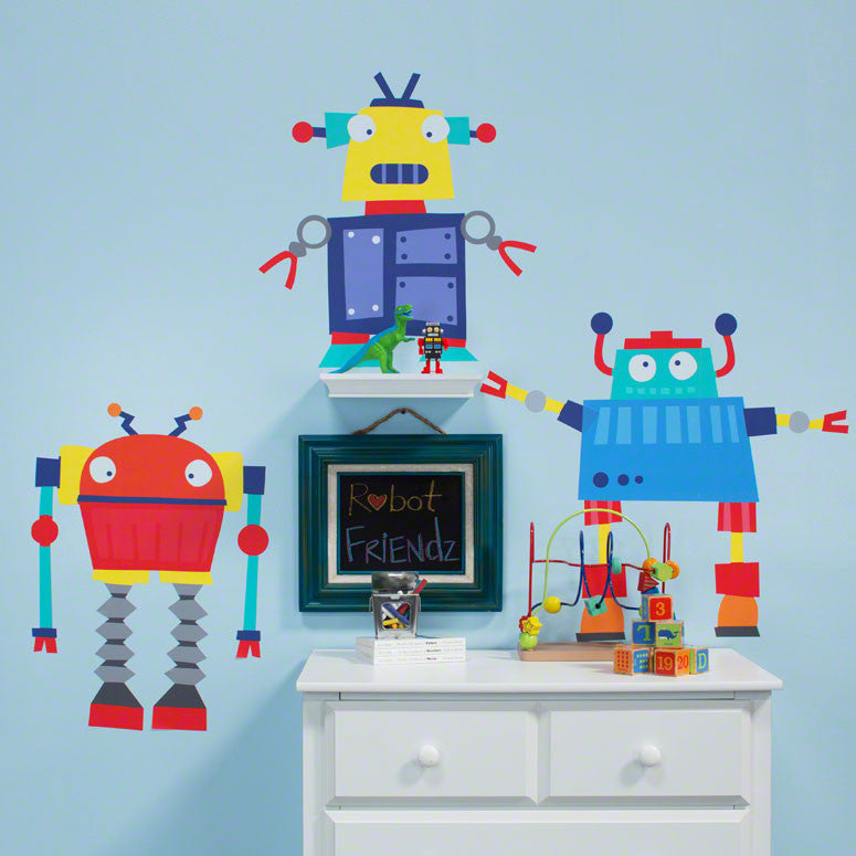 Vicky Barone Wall Decal Robots