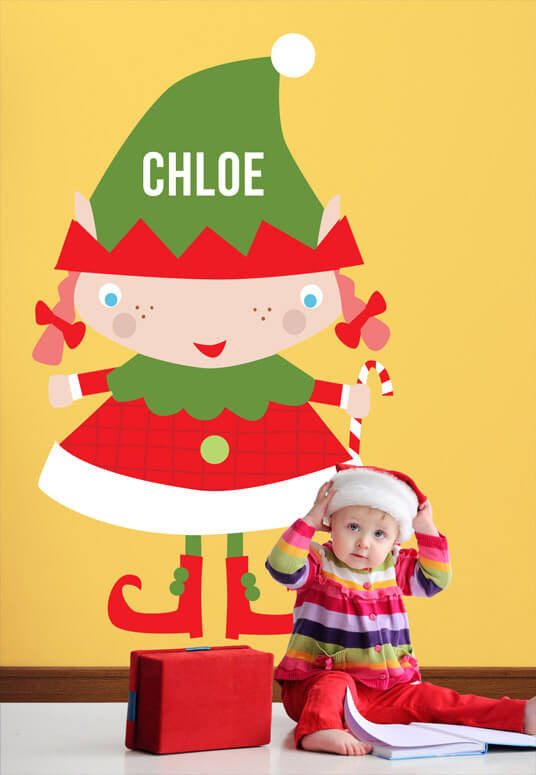 Vicky Barone Wall Decal Elf
