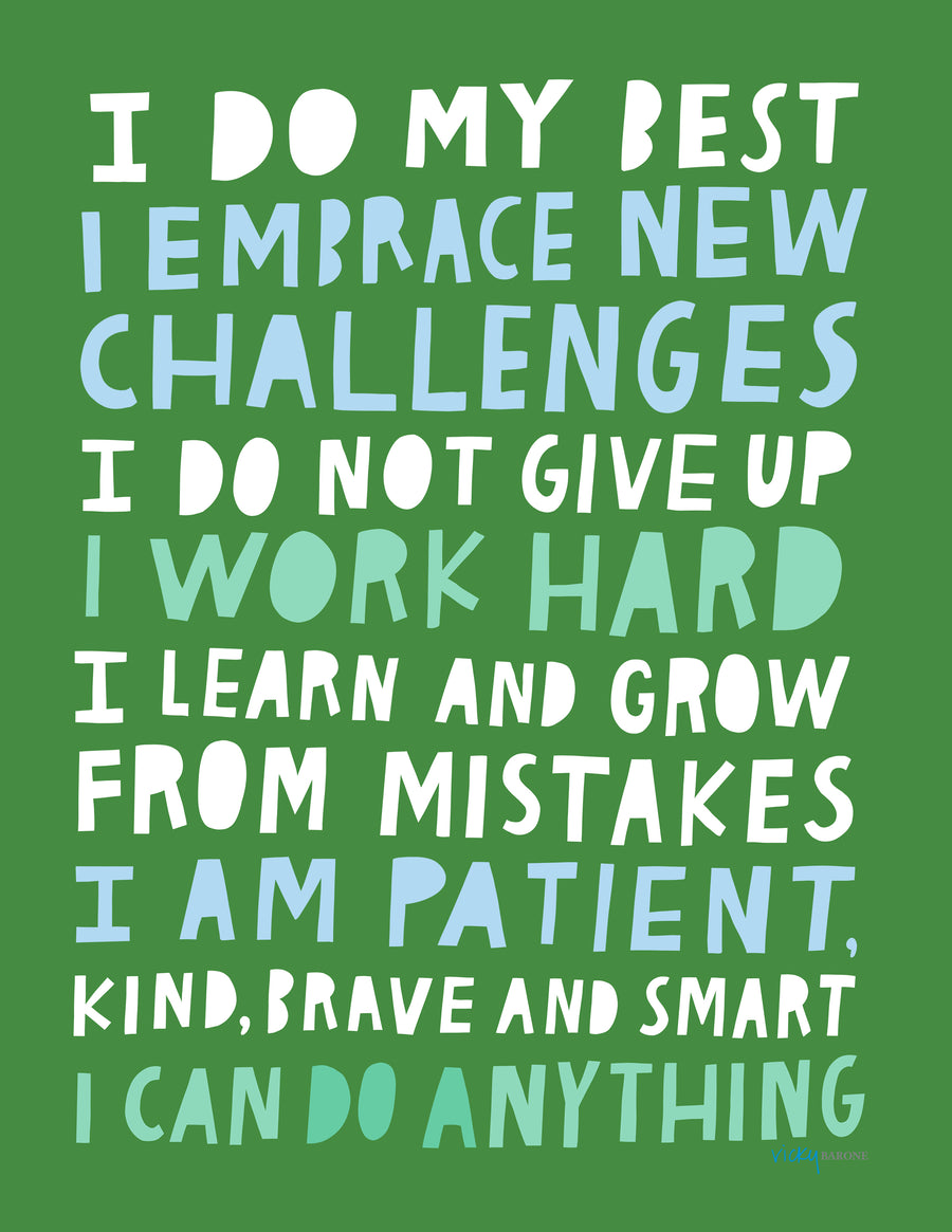 Growth Mindset Printable PDF