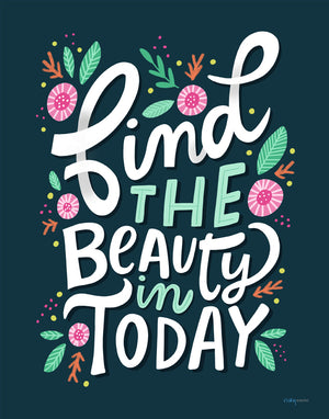Find The Beauty Art Print