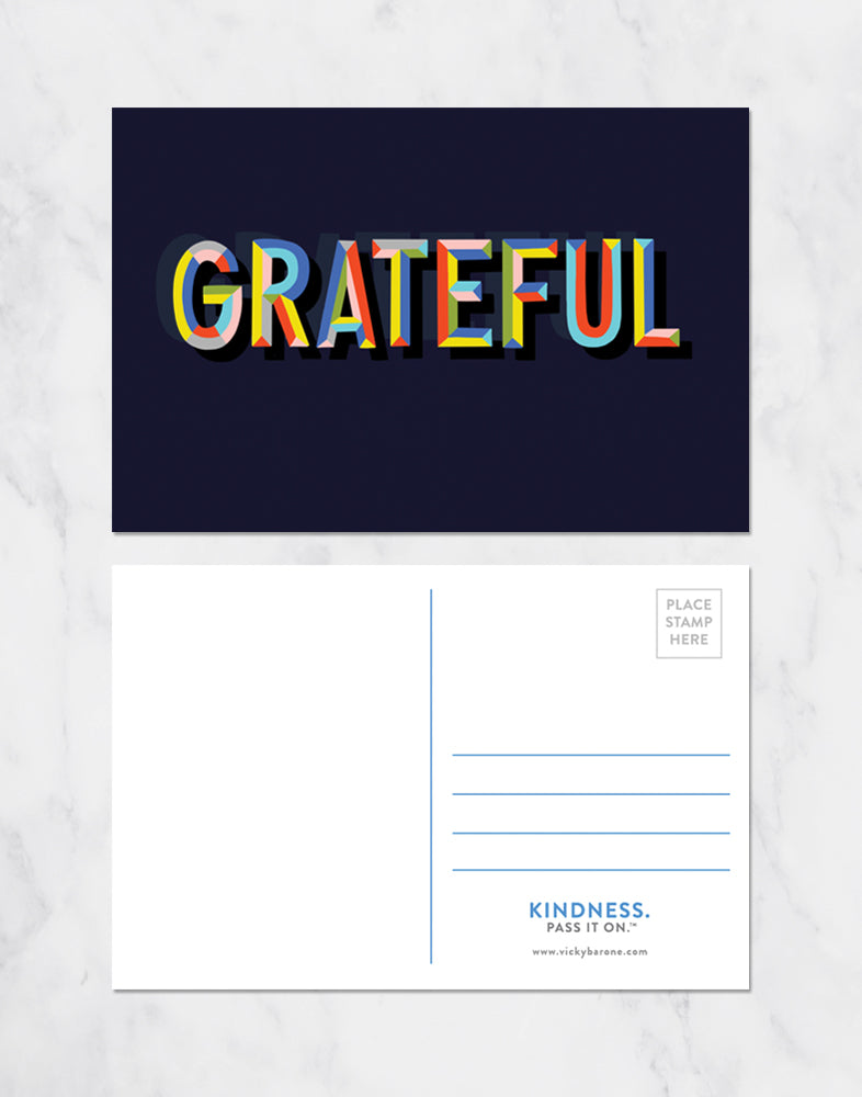 Grateful Postcards