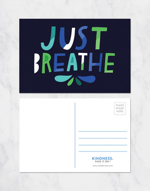 Just Breathe Postcards