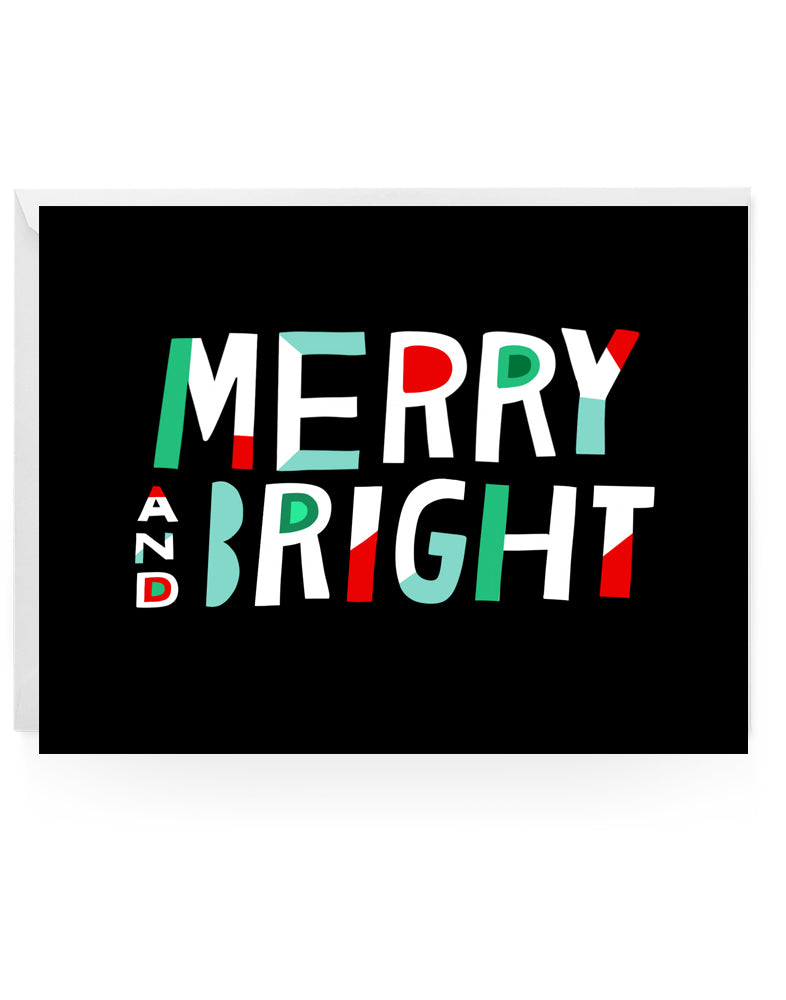 Merry And Bright Notecards
