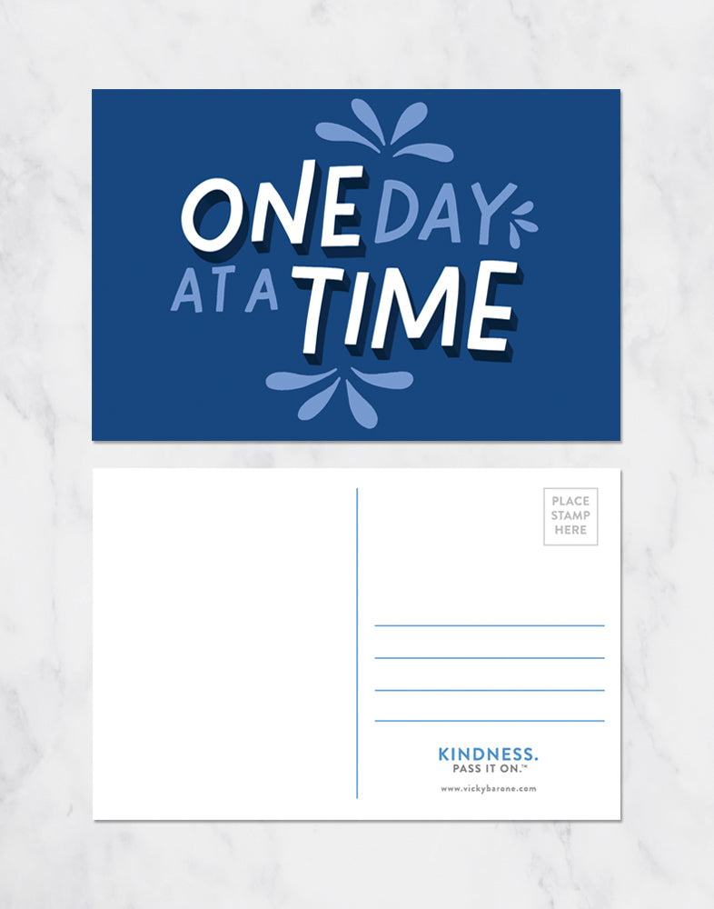 One Day At A Time Postcards