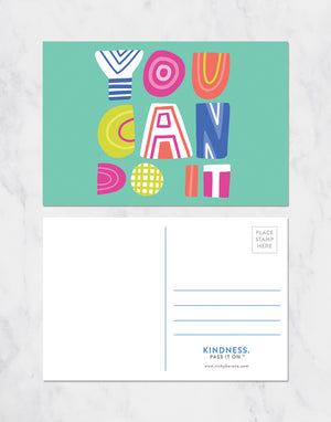 You Can Do It Postcards