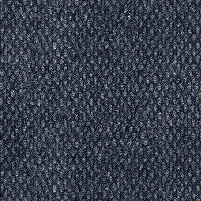 Indoor Outdoor Rollable Carpet Deep Ocean Blue Weave