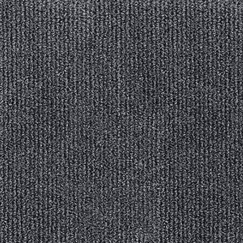 Indoor Outdoor Rollable Carpet Charcoal Pinstripe