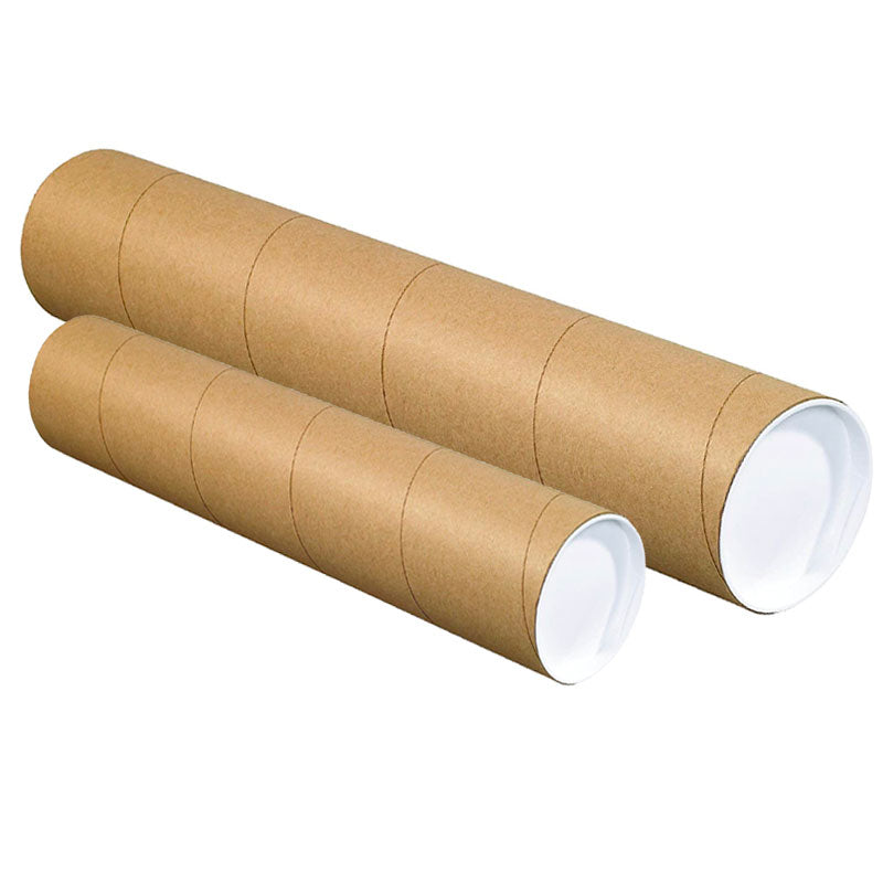 Rollable Floor Cardboard Shipping Tubes
