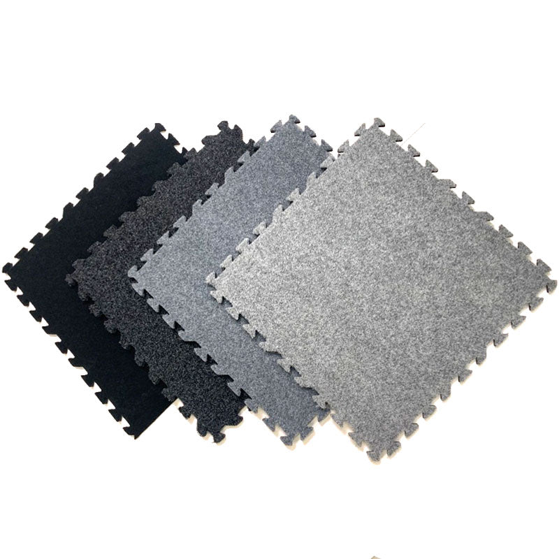 Plush Comfort Carpet Interlocking Flooring Tiles