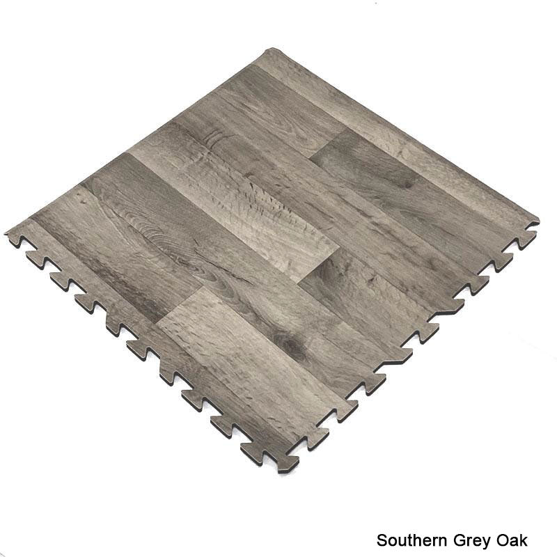 Comfort Designer Interlocking flooring  Tiles, Southern Grey Oak