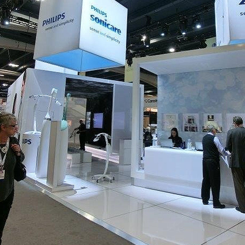 Tradeshow Interlocking Tile Floor Philips Sonicare