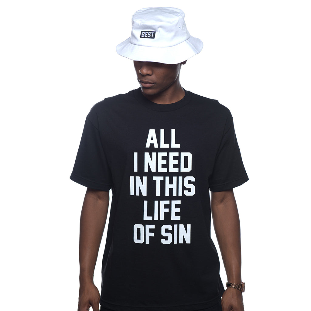 Adapt x Breezy: Life of Sin Black Tee
