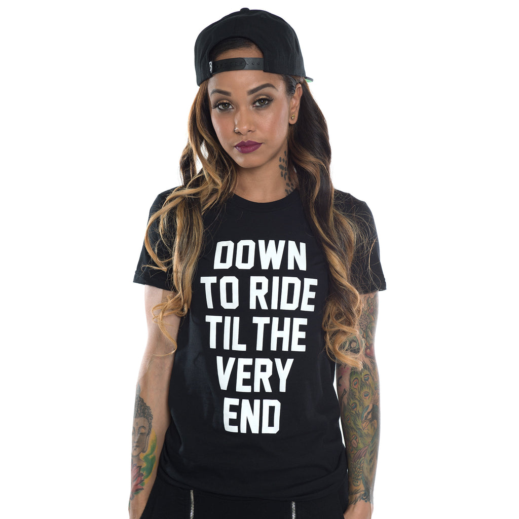 Adapt x Breezy : Down To Ride Black Tee