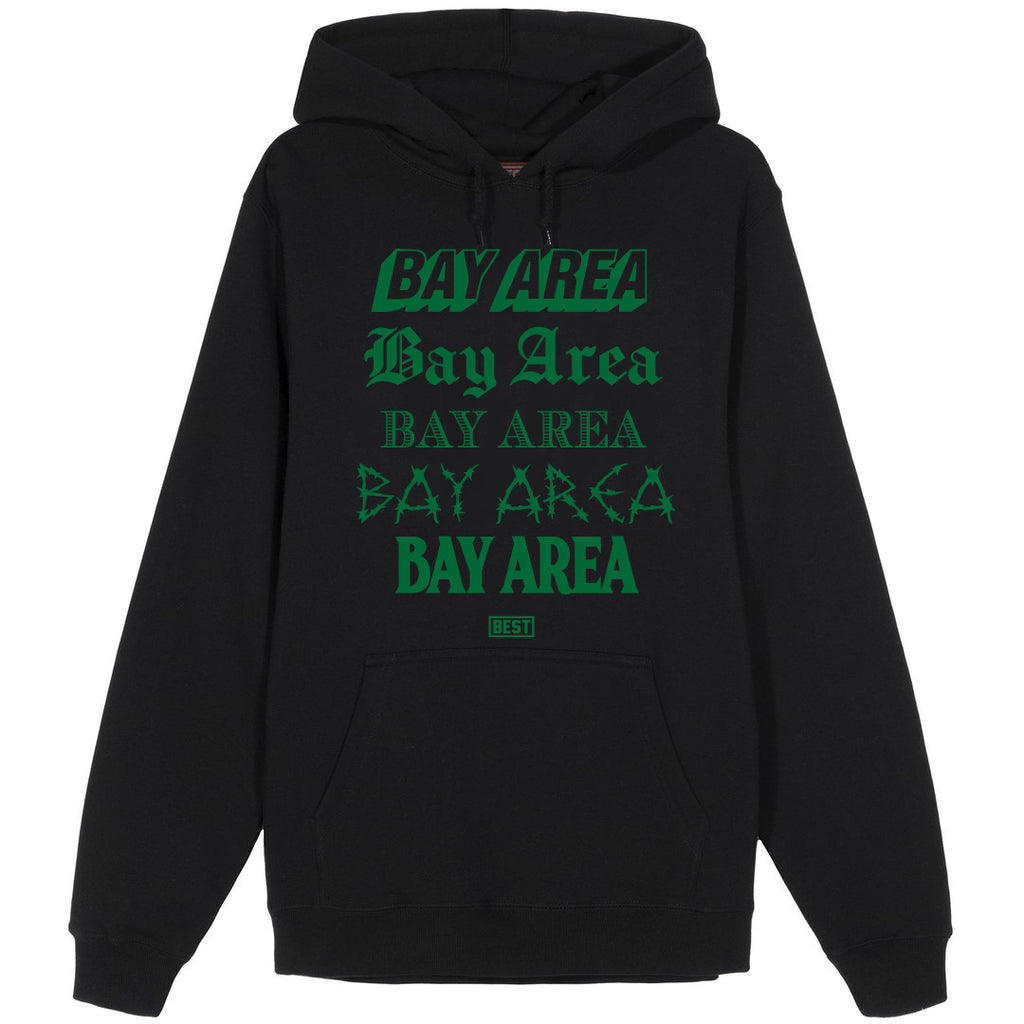 5 Shades of Bay Hoodie Green