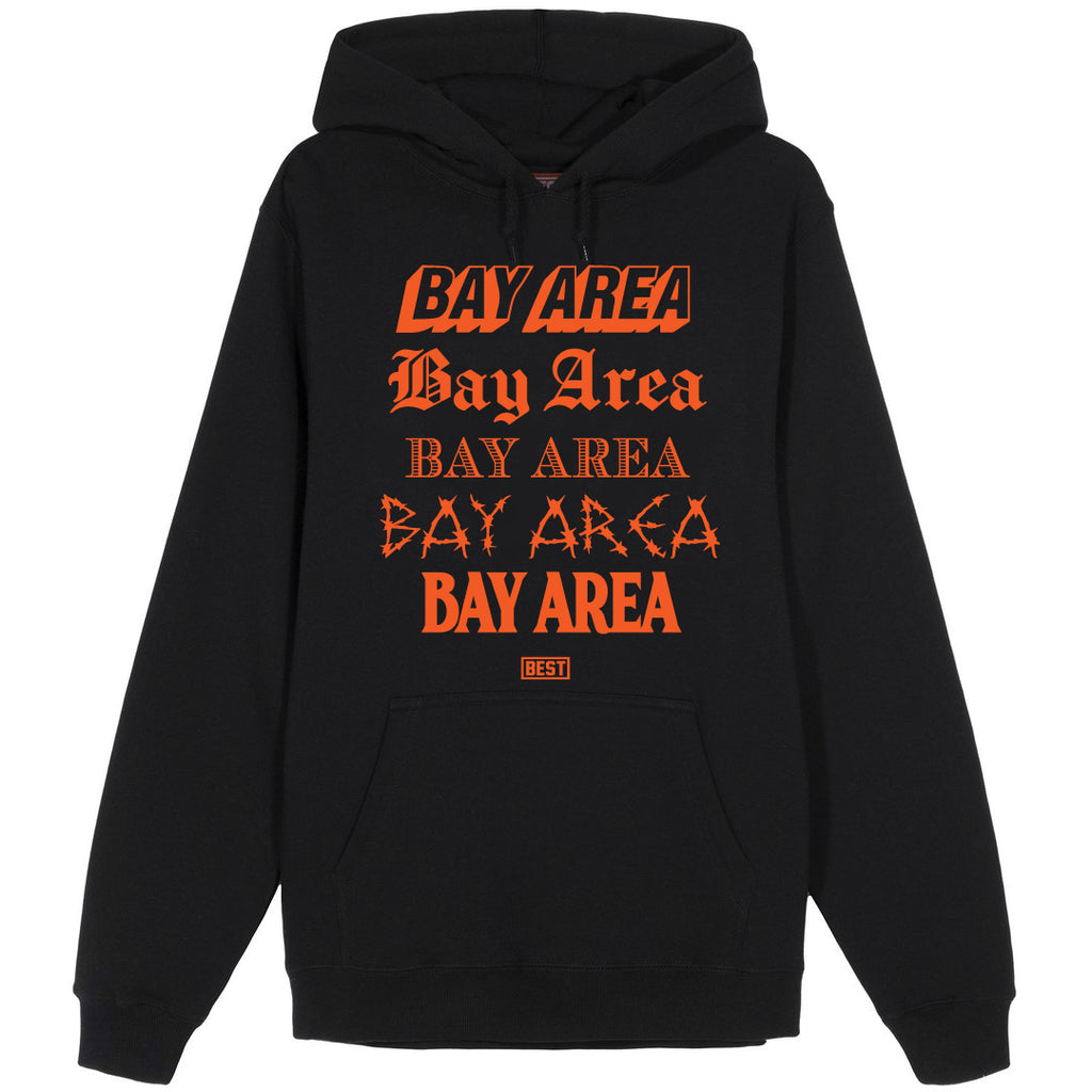 5 Shades of Bay Hoodie Orange