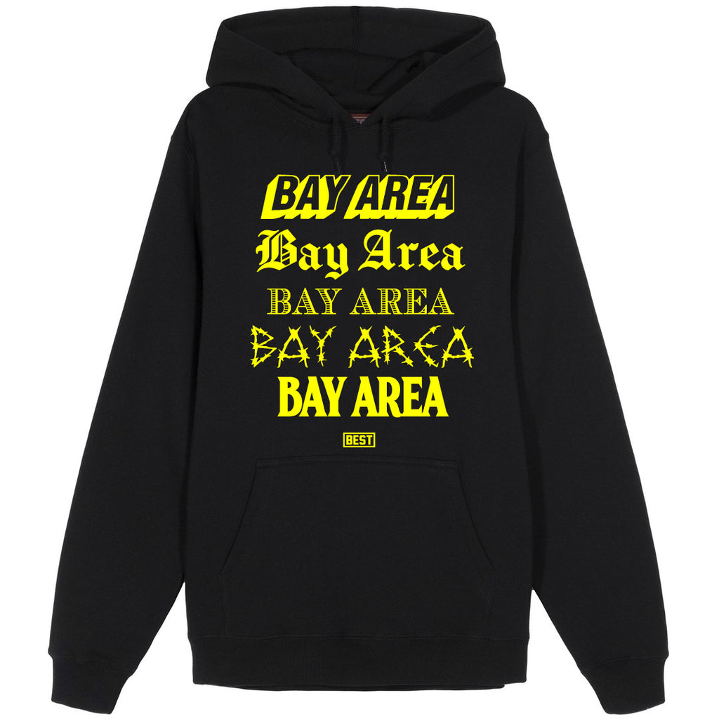 5 Shades of Bay Hoodie Yellow