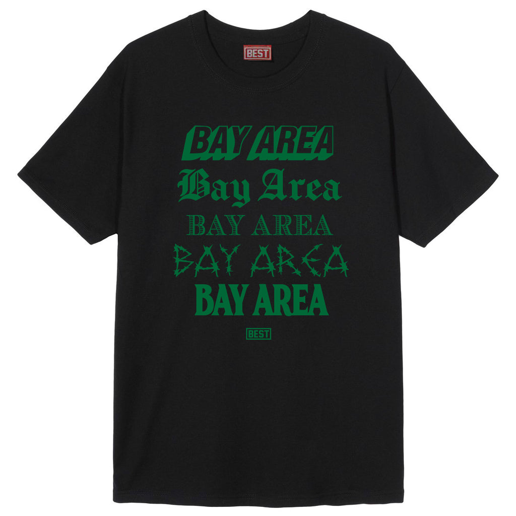 5 Shades of Bay Tee Green