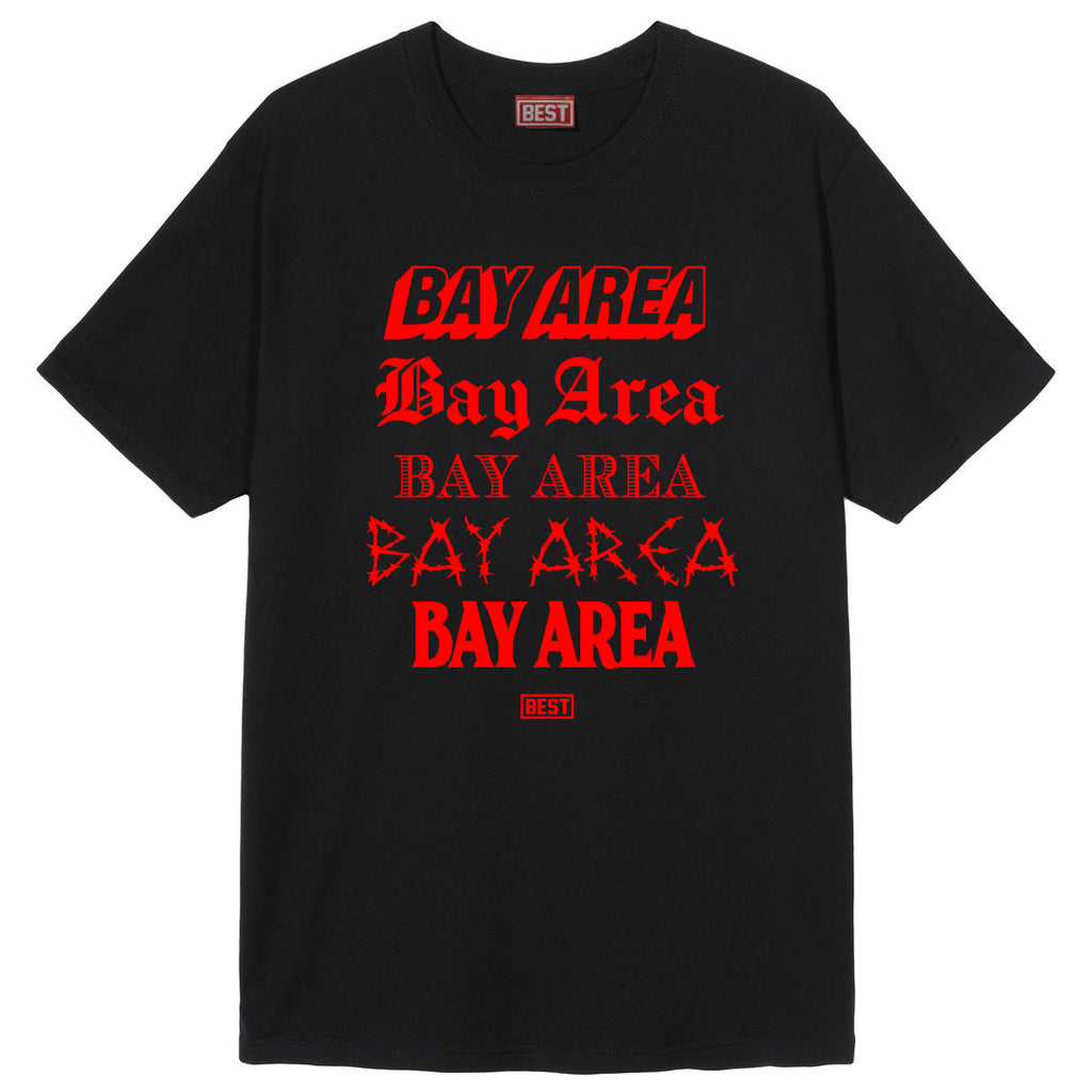 5 Shades of Bay Tee Red