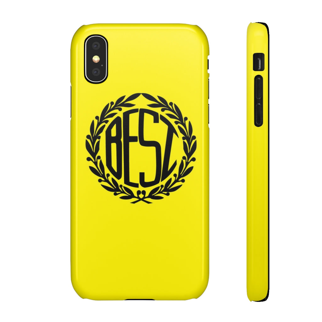 Best Crest Yellow iPhone Case