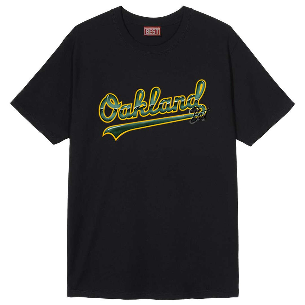 Oakland Airbrush Tee Black