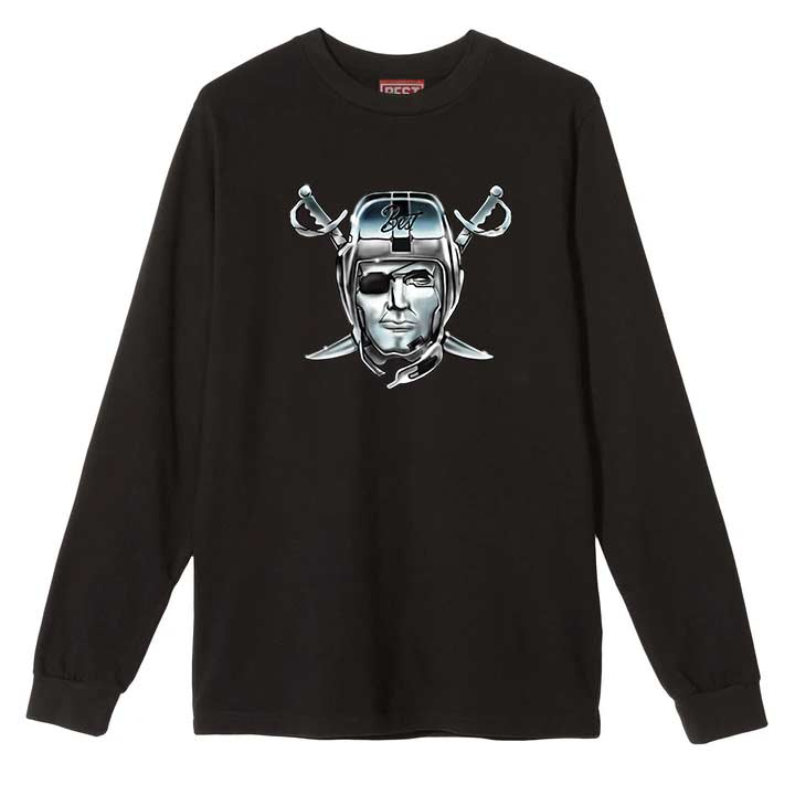 Airbrush Raiders BEST Longsleeve Tee Black