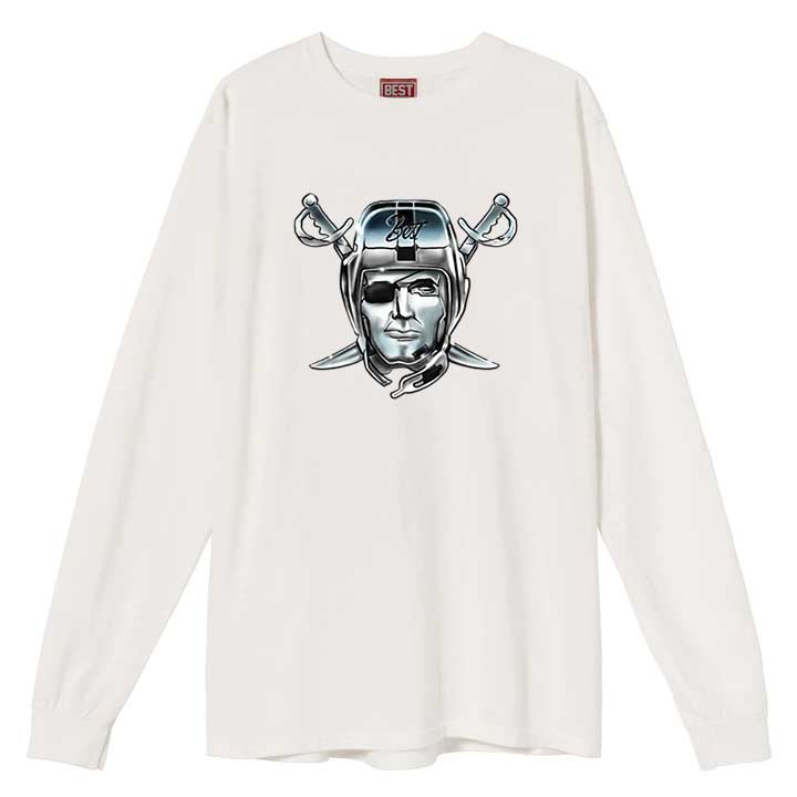 Airbrush Raiders BEST Longsleeve White