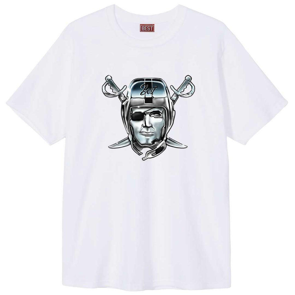Airbrush Raiders BESt Tee White