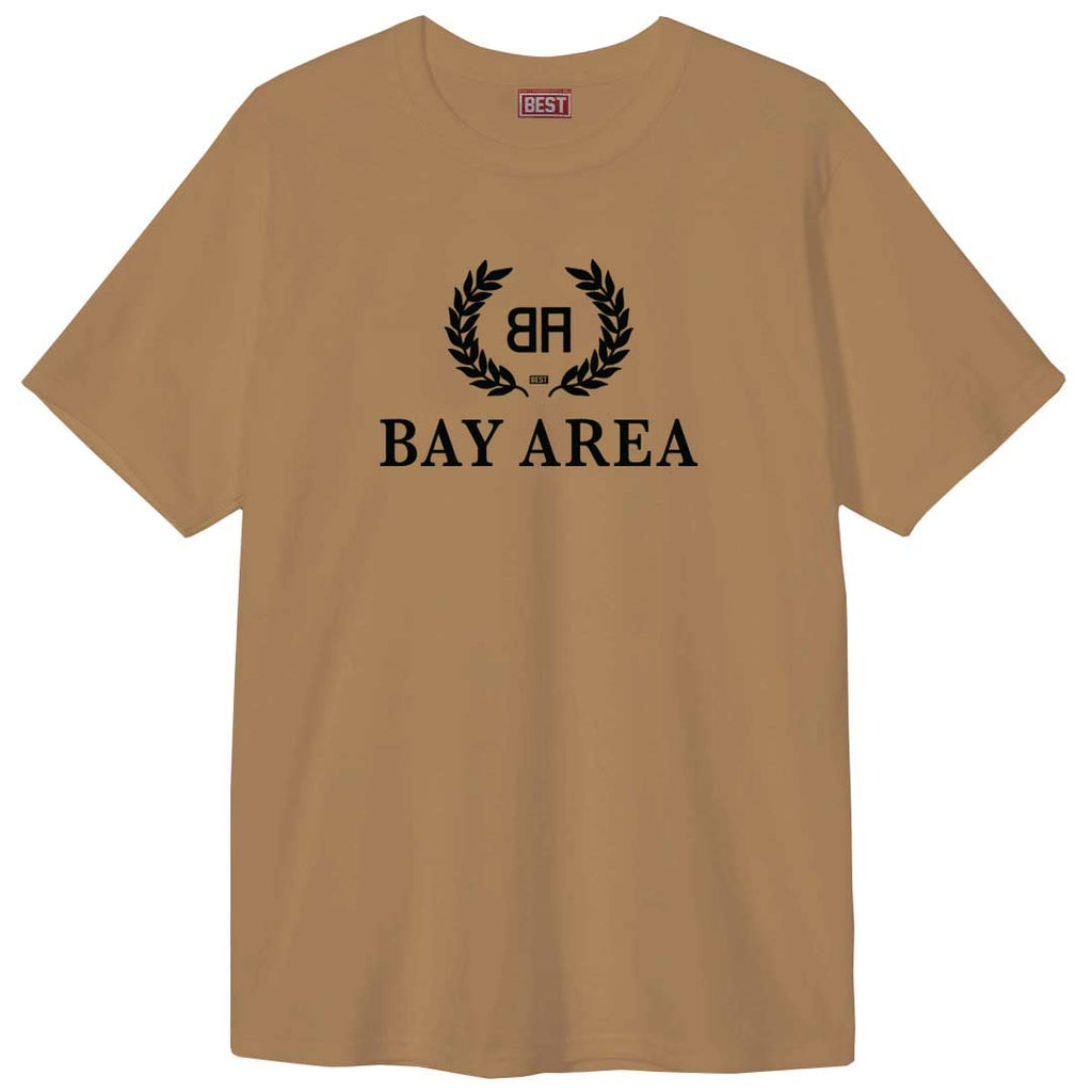 Bay - Area- Balencia Black Print Tee