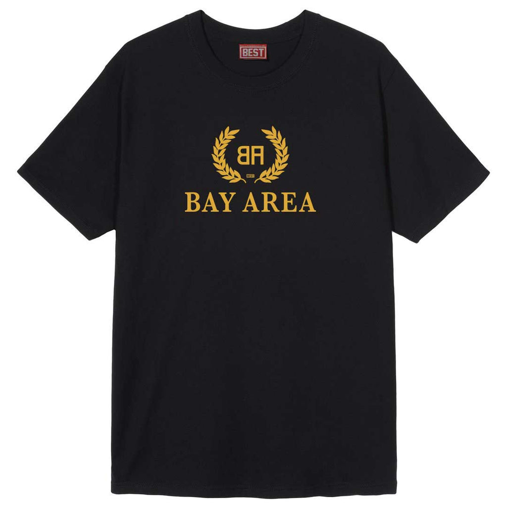 Bay - Area- Balencia Yellow Print  Tee