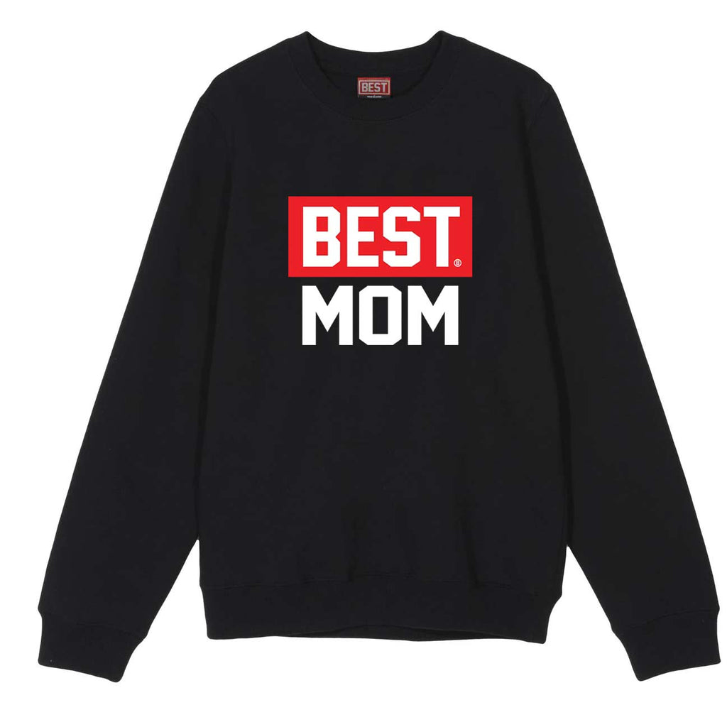 BEST Mom Crewneck Black