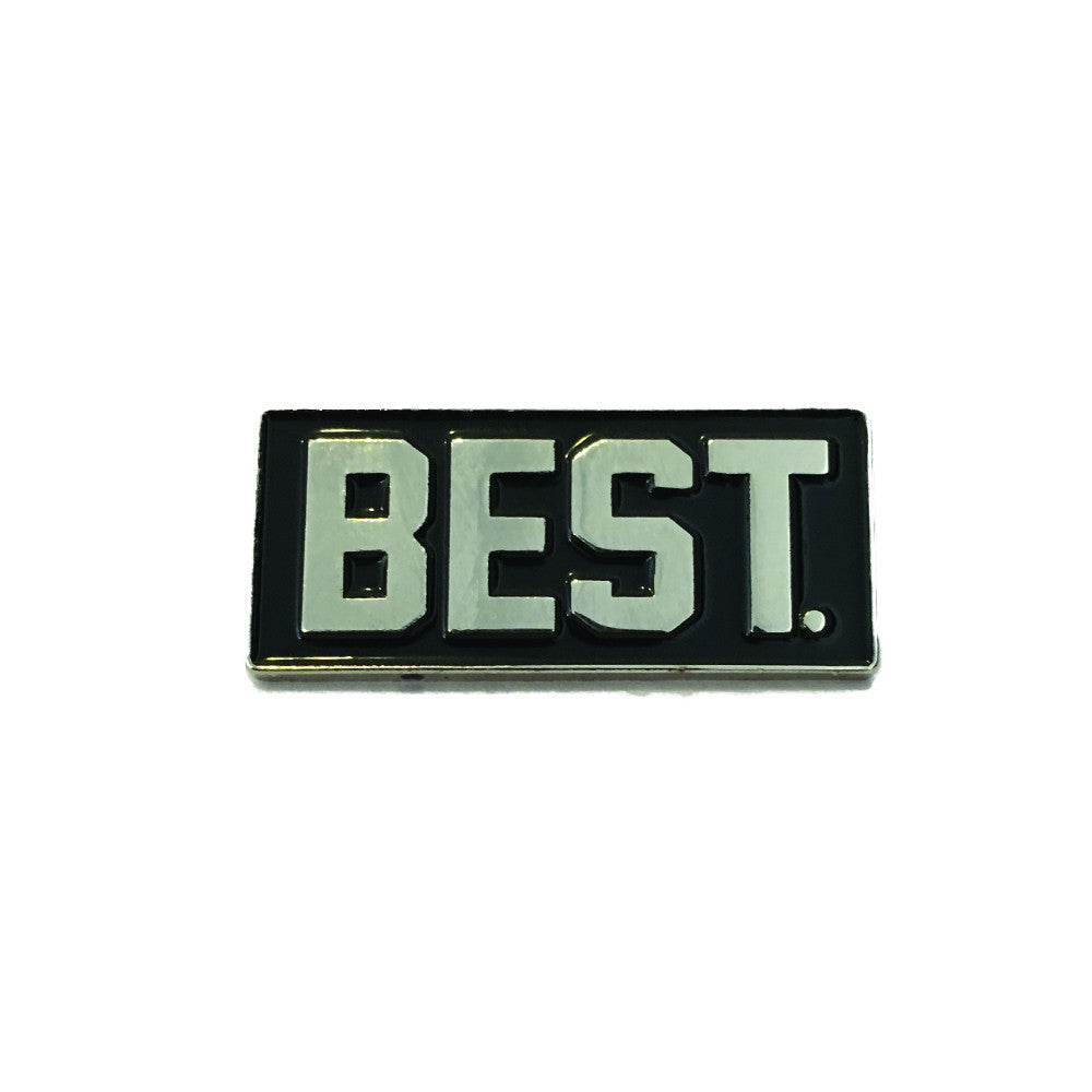 BEST BLOCK LAPEL PIN