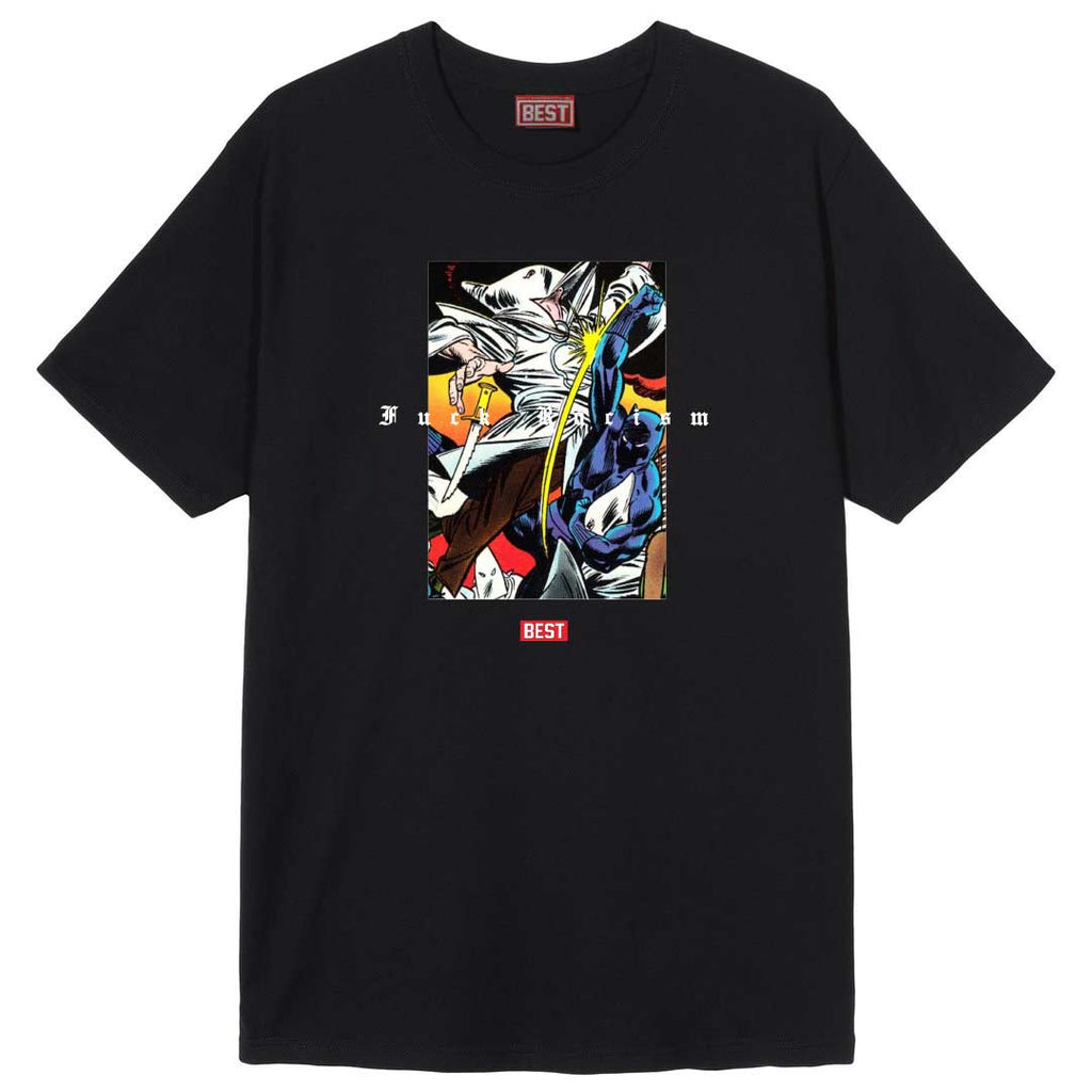 BP Fuck Racism Tee Black