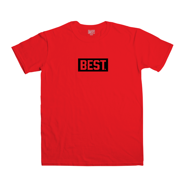 Best Block Red Tee