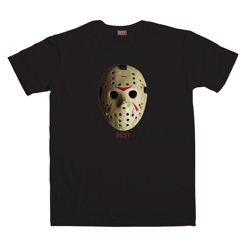 Best Mask Black Tee