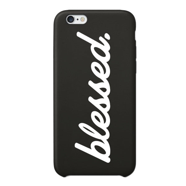 Cursive Blessed iPhone 6 Case