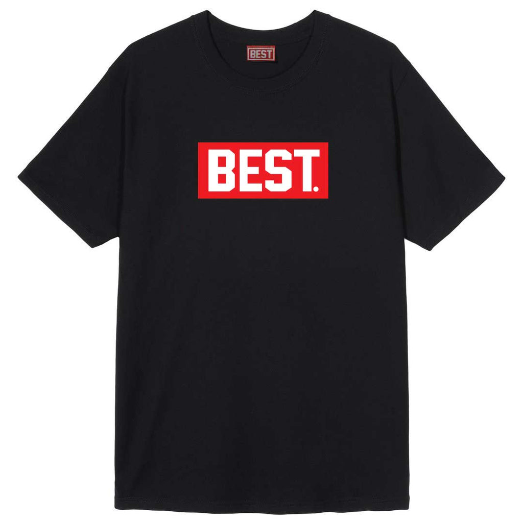 Classic Red BEST Box Black Tee