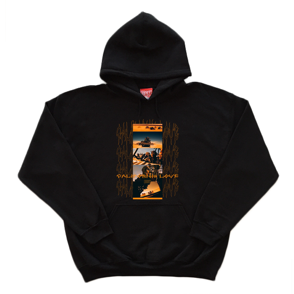 California Love Black Hoodie