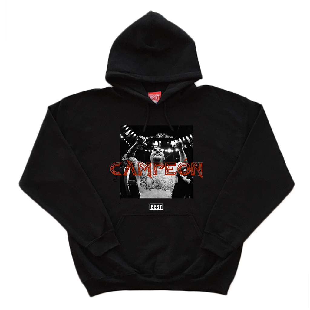 Andy The Destroyer Black Hoodie