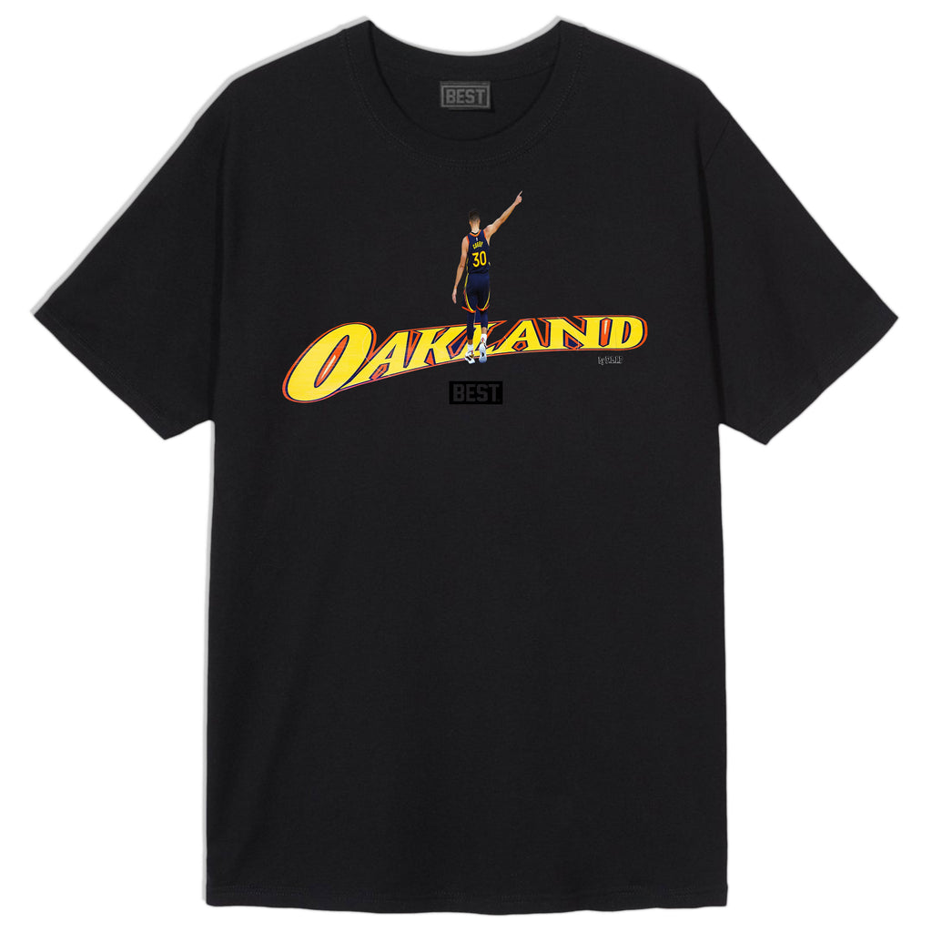 CENTER COURT SC OAKLAND TEE BLACK