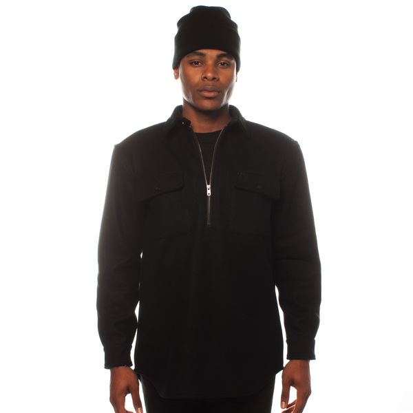East Foothills Black Half Zip Pullover