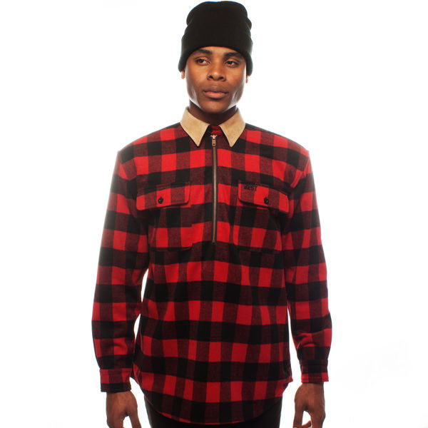 East Foothills Red Half Zip Pullover