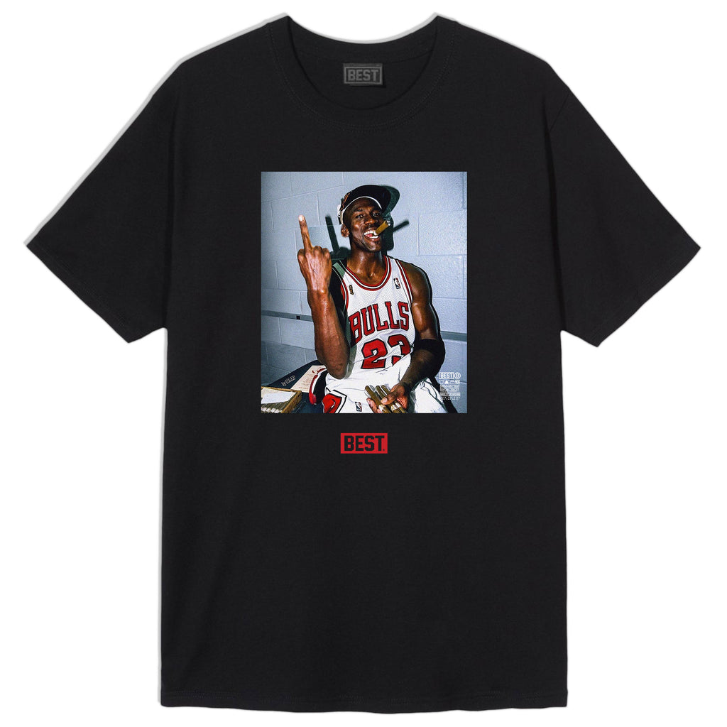FUCK THE REST MJ LONG TEE BLACK