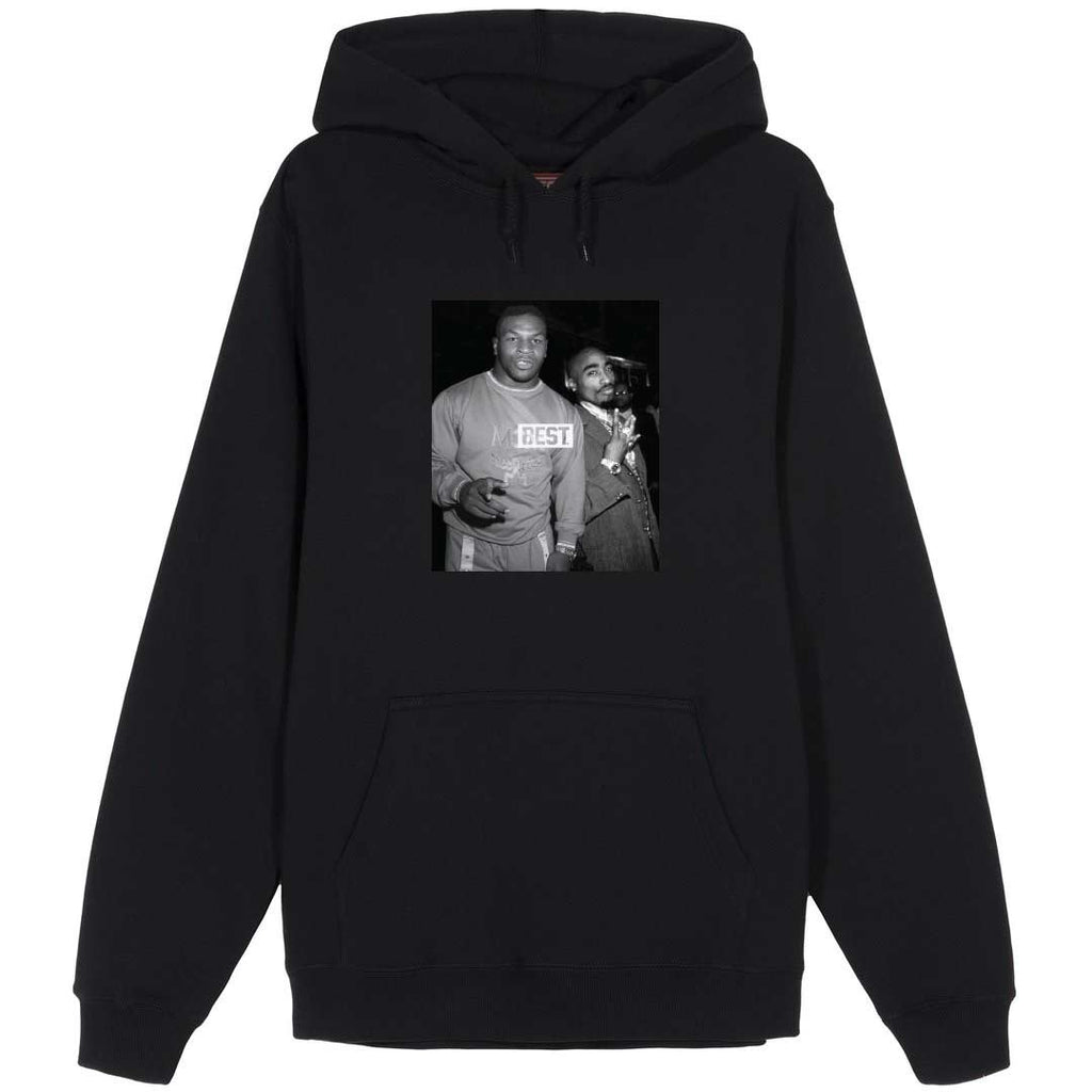 Goats Mike and Pac Black Hoodie