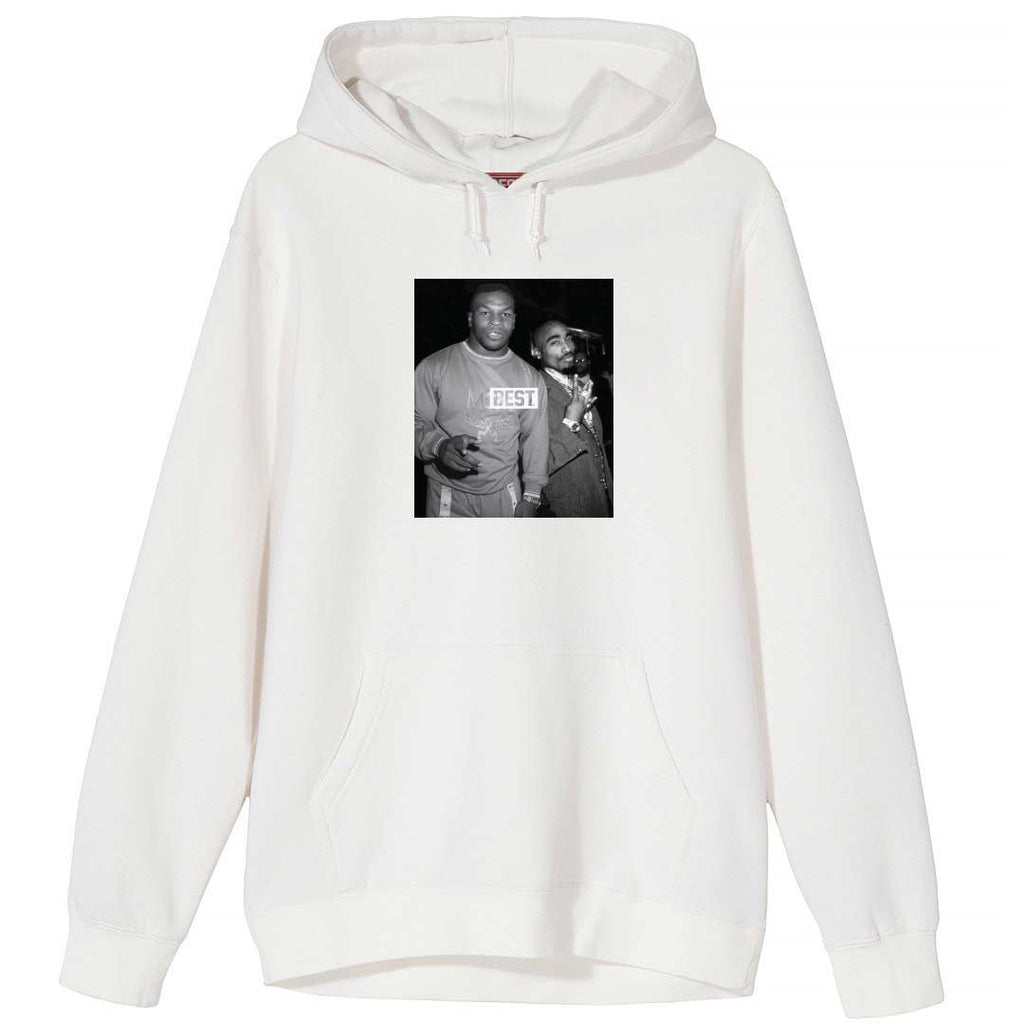 Goats Mike and Pac White Hoodie