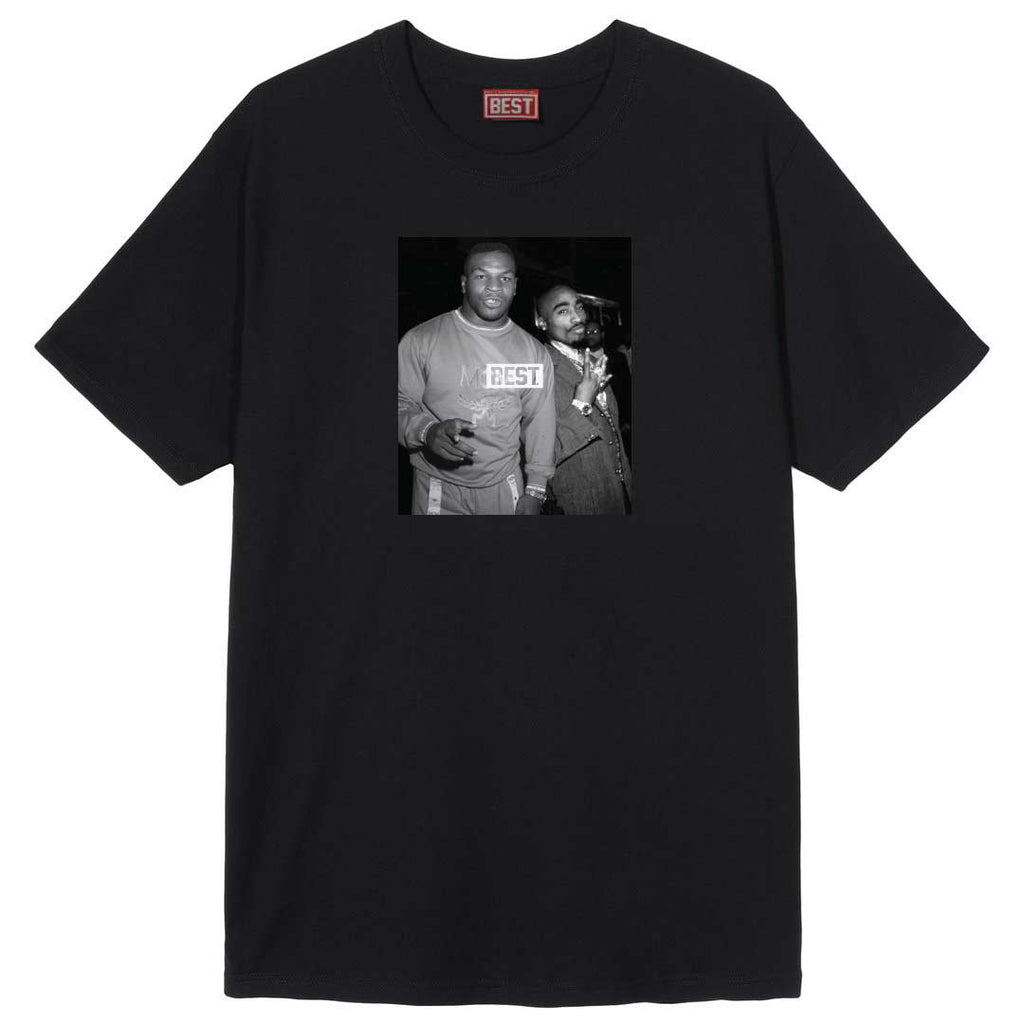 Goats Mike and Pac Black Tee