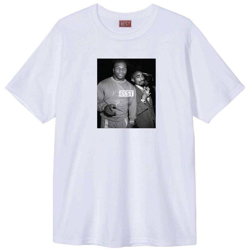 Goats Mike and Pac White Tee