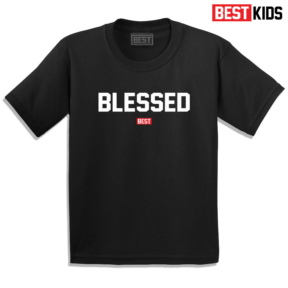 BEST KIDS OG BLESSED TEE BLACK