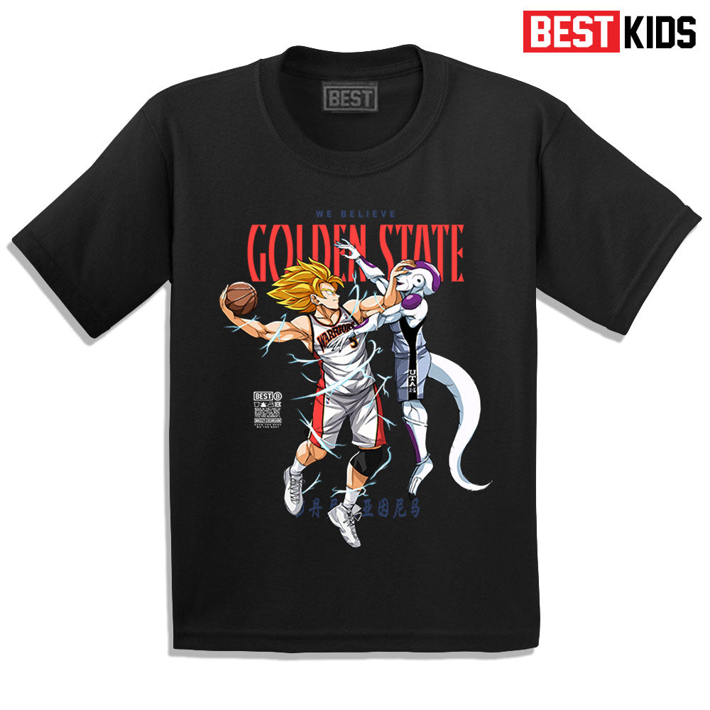 BEST KIDS WE BELIEVE GOKU TEE BLACK